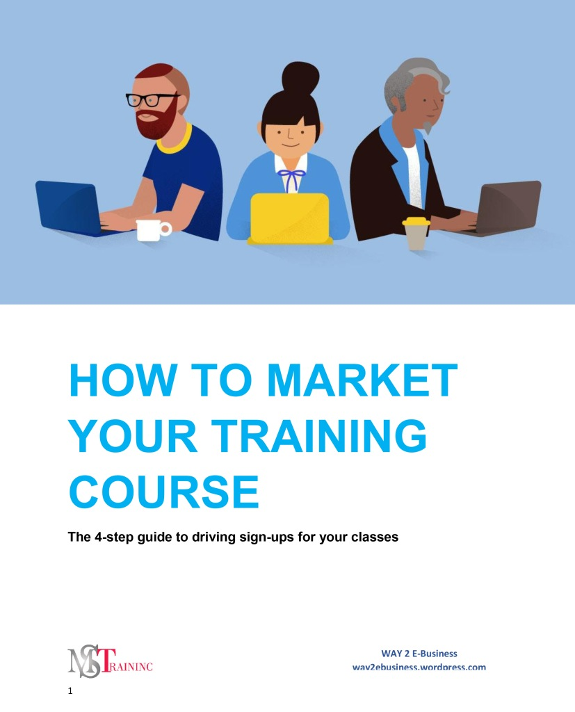 HOW TO Market Your Training Course